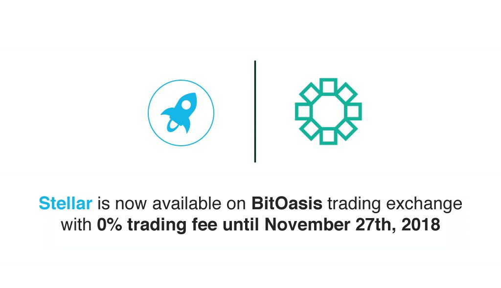 Stellar (XLM) on BitOasis