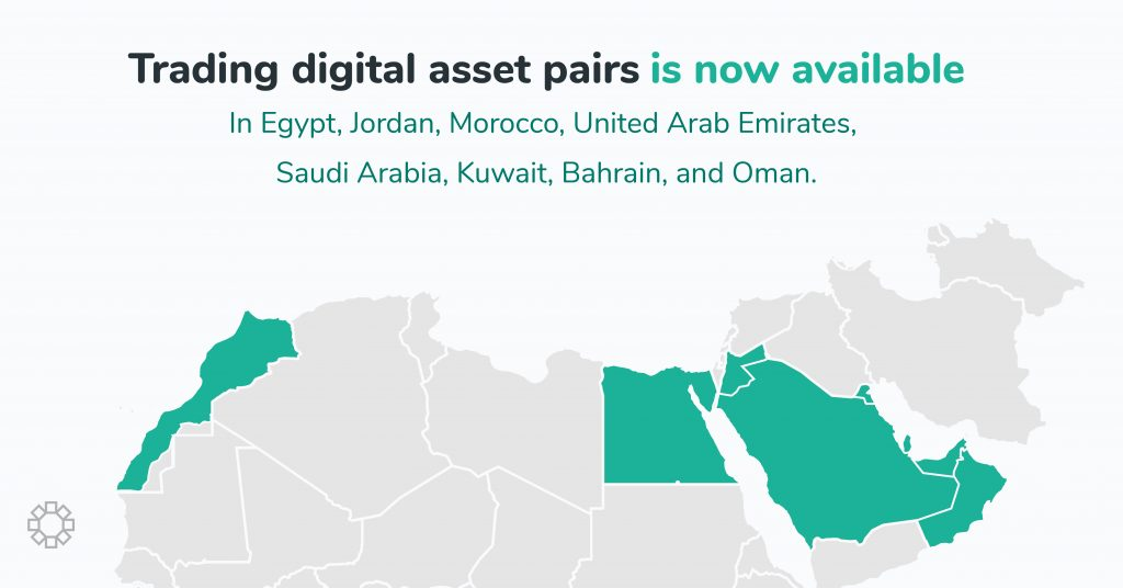 BitOasis in Egypt, Jordan and Morocco