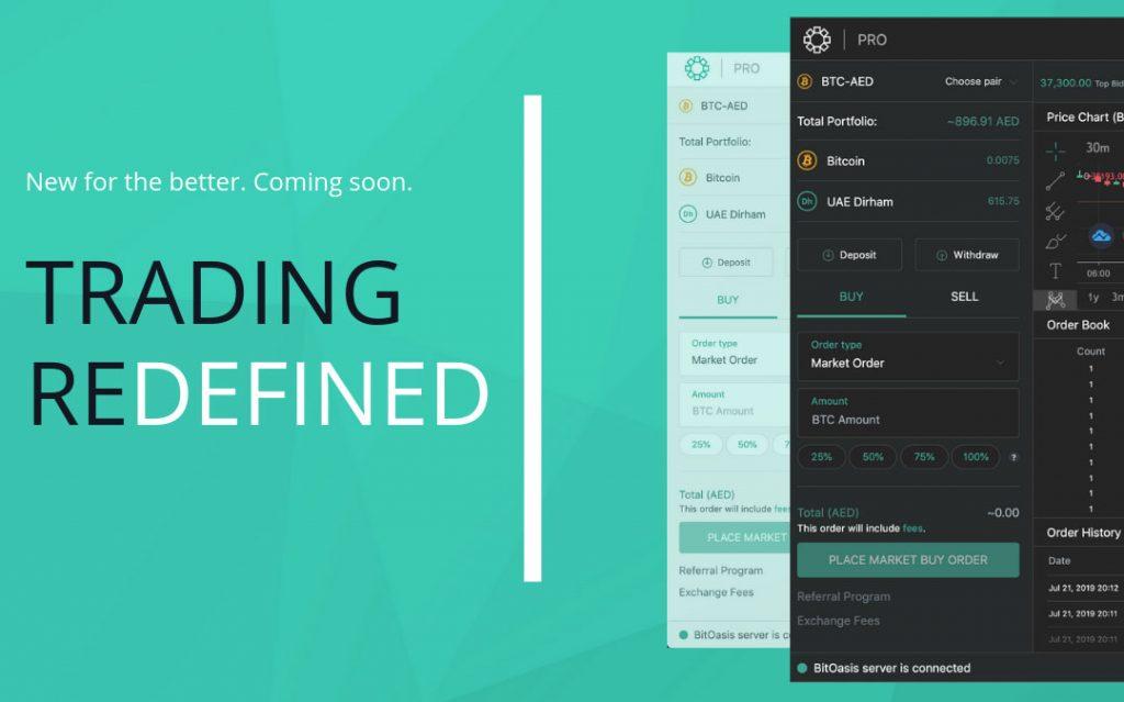 BitOasis new Platform