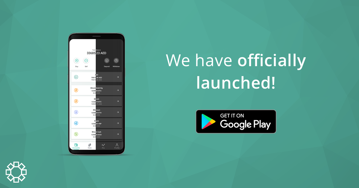 BitOasis Android App Launch