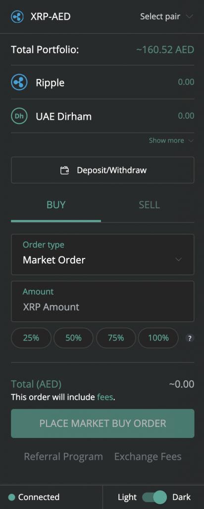 Buying Ripple (XRP) Through BitOasis Pro
