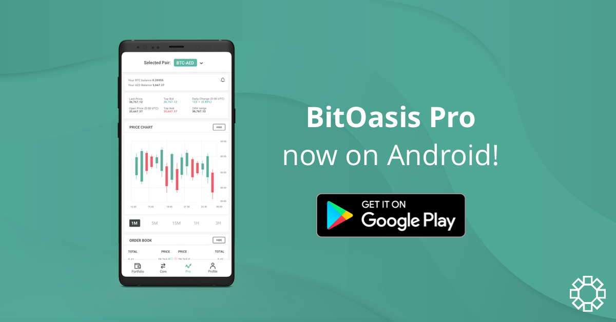BitOasis PRO now on Android!