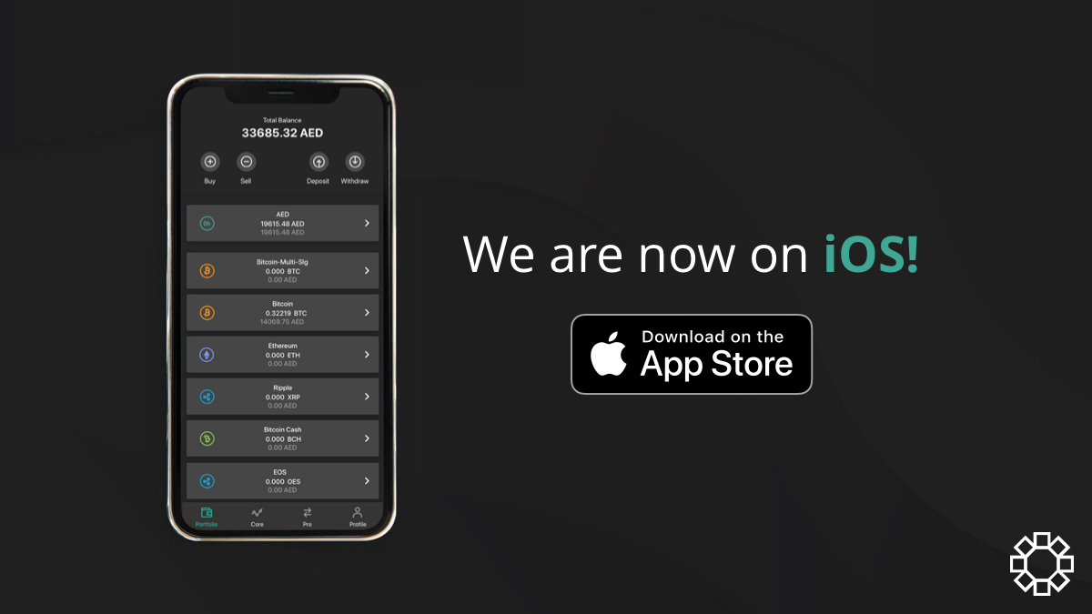 Introducing the BitOasis iOS app