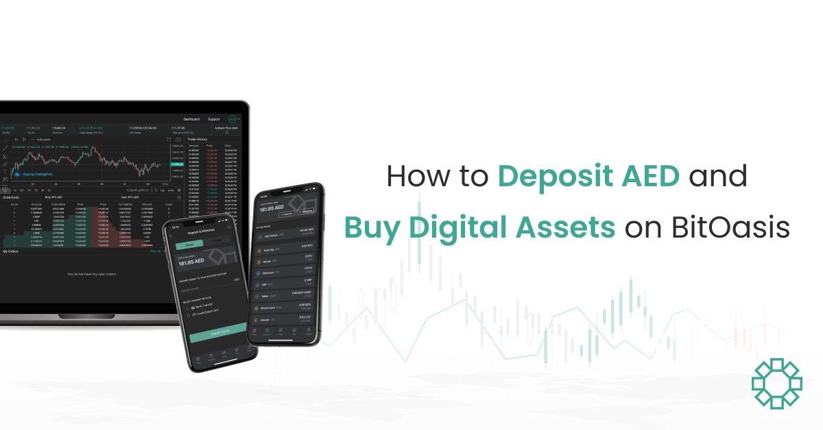 How to Deposit AED and Buy Digital Assets